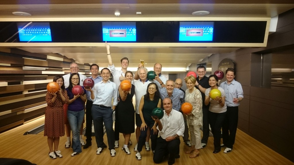 Rotary Club Kowloon North Fellowship Bowling  at Hong Kong Club