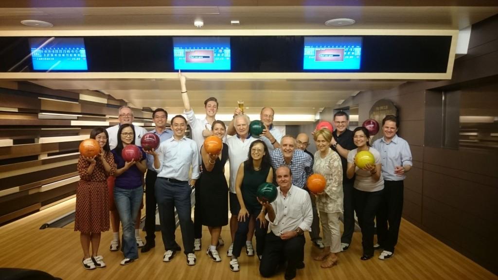 Rotary Club Kowloon North Fellowship Bowling  at Hong Kong Club