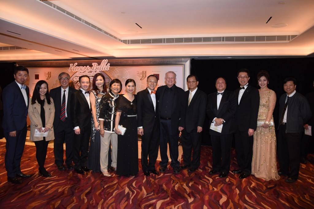DG Eric Chin and Celebraties at the HUB Gala
